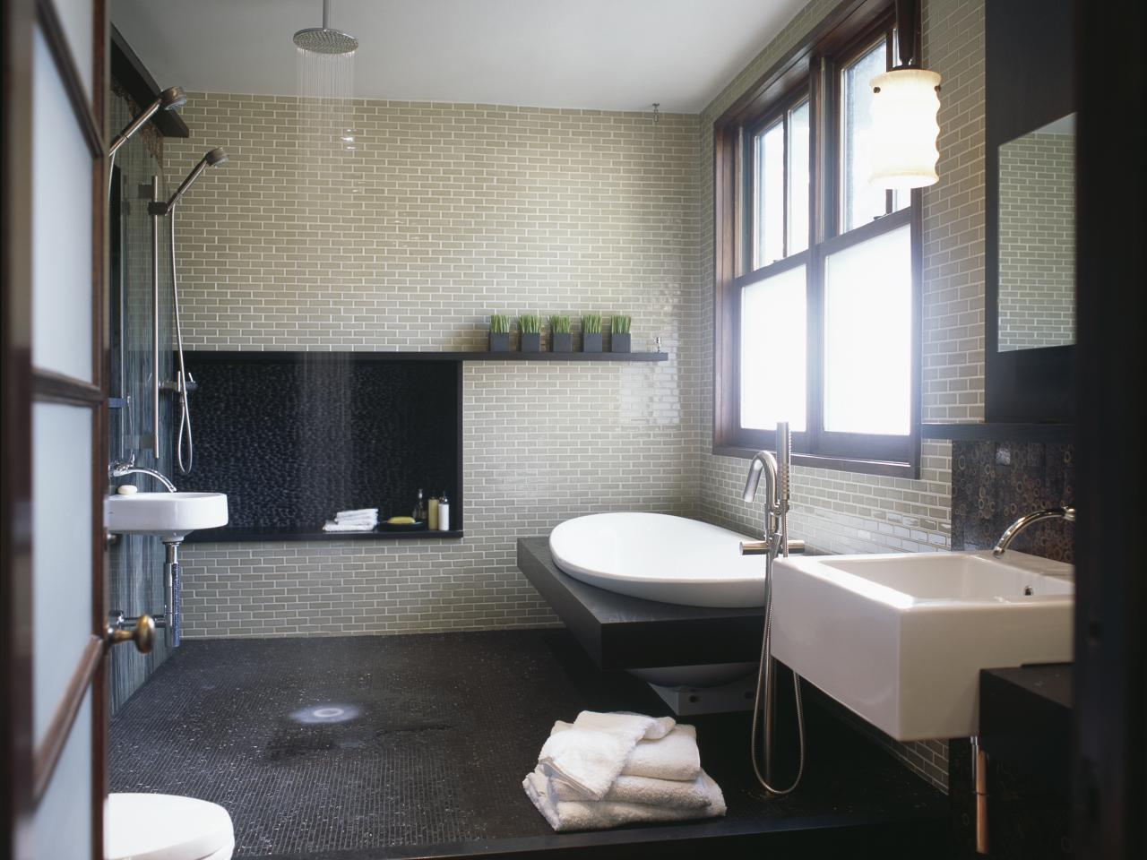 Extraordinary Ideas For Small Modern Bathroom Designs